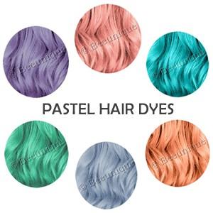 Pastel Hair Dye
