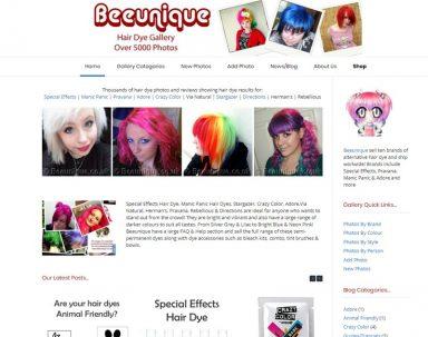 Hair Dye Gallery