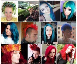 Hair Dye Gallery July 2019