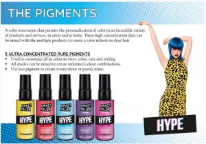 Crazy Color Hype – Choose Base, Add Pigment and create!