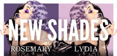 Lydia Lavender & Rosemary Mauve – New Herman's Hair Dye Colours