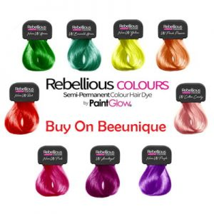 Rebellious UV hair Swatches