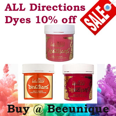 Directions Dyes 10% off