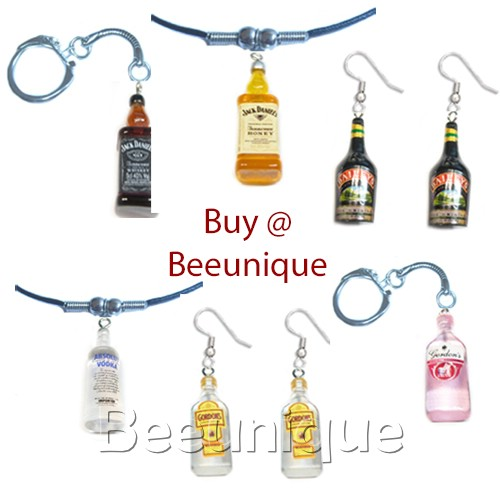 Alcohol Jewellery from Vodka to JD!
